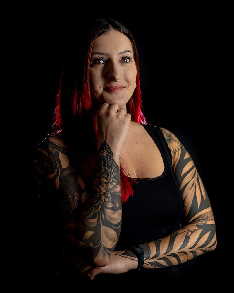 Sylvia - sylvia - führungskraft -studiomanagement - management - studio - pikass - tattoo - ketsch - 68775 -kundenservice - service - kunden